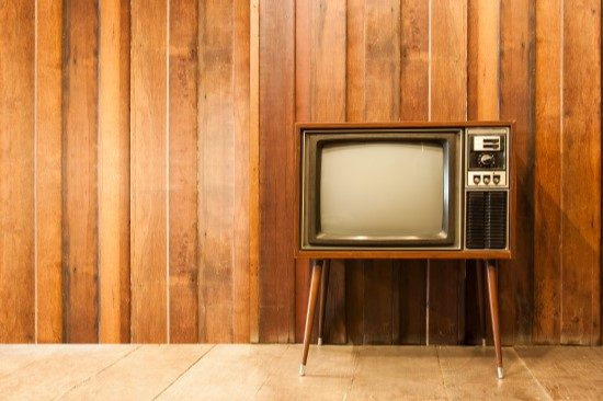 Television for watching videos on mental health, trauma, depression, stress, and anxiety